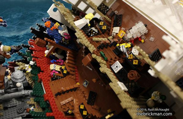 titanic di lego