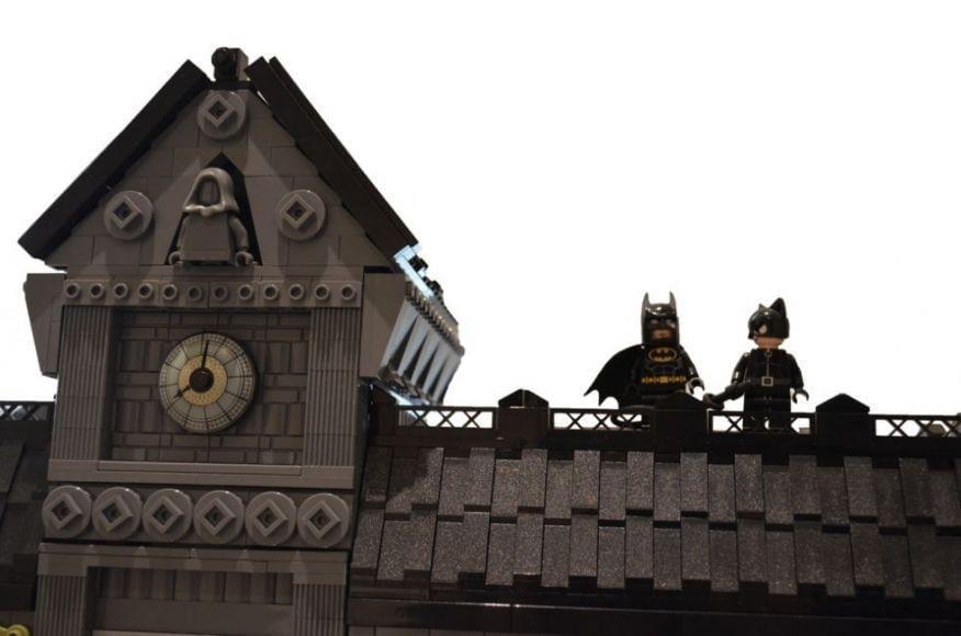 manicomio di Gotham City costruito con i LEGO