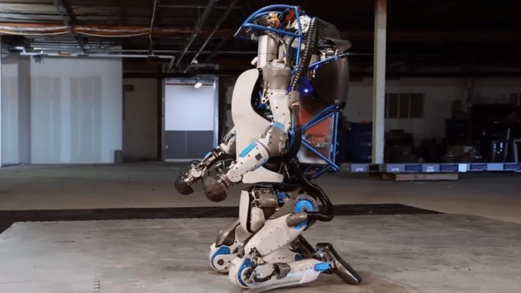 Atlas il Robot umanoide di Google