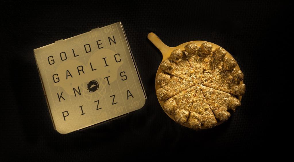 Pizza Hut introduce la pizza all'oro