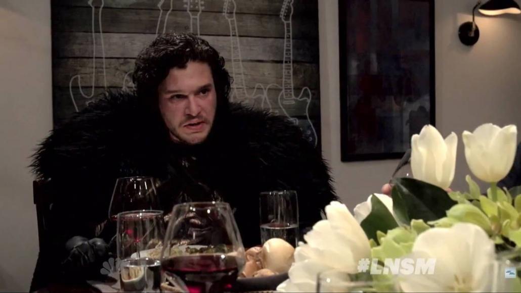 cena con Jon Snow
