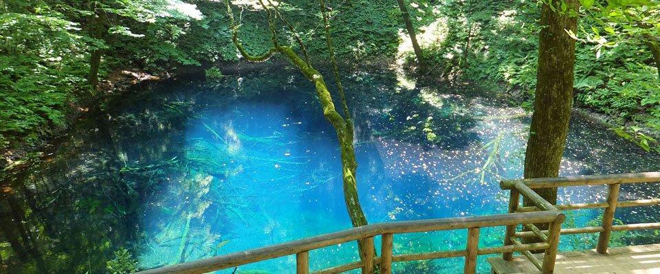 Lago-Aoike-Shirakami-Sanchi-Principessa-Mononoke