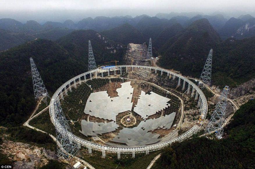 telescopio più grande al mondo in cerca di alieni