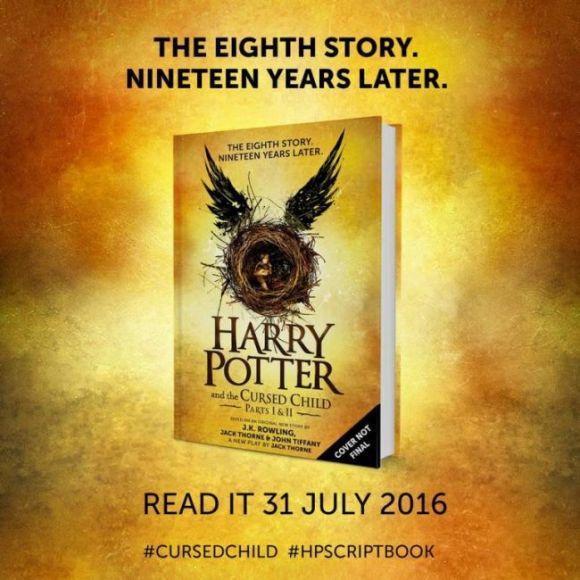ottavo libro di Harry Potter