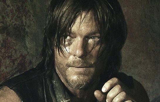 Norman Reedus contro zombie in hoverboard