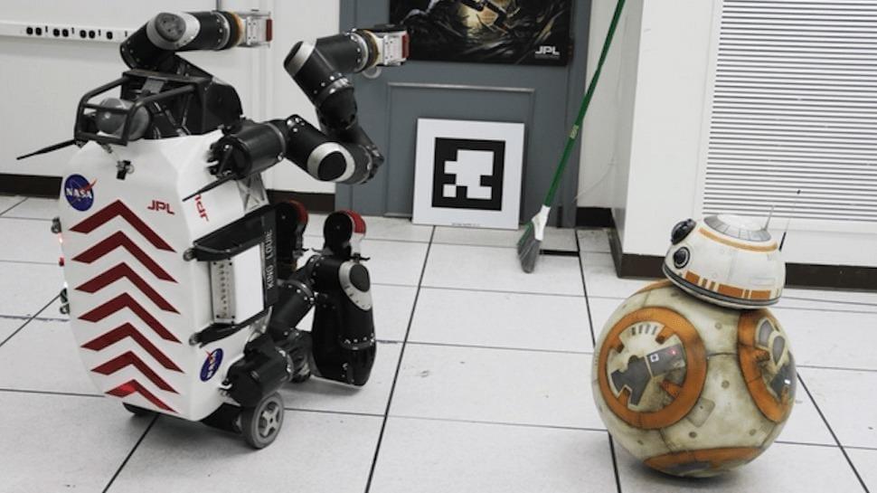 BB-8 in visita alla NASA JPL