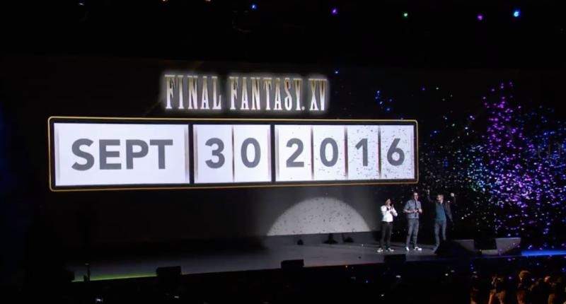 Data rilascio Final Fantasy XV