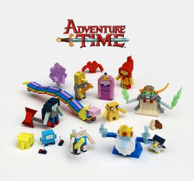 set LEGO di Adventure Time