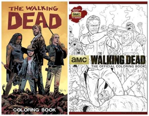 I libri da colorare di The Walking Dead