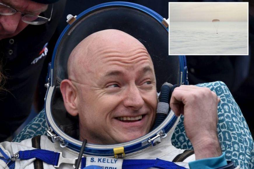 Scott Kelly è atterrato dopo 340 giorni nello spazio
