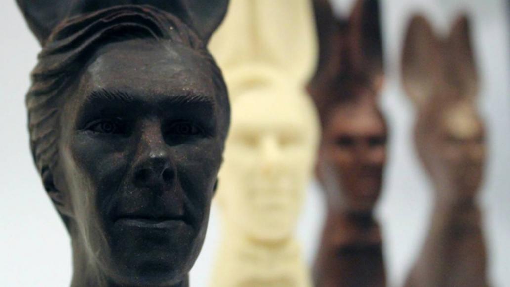 Benedict Cumberbatch di cioccolato