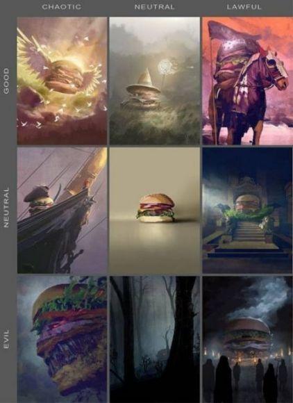 hamburger D&D