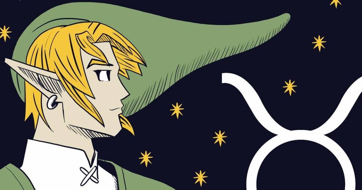 personaggi Nintendo disegnati come segni zodiacali