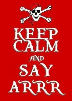 19 Settembre – Parla come un pirata!