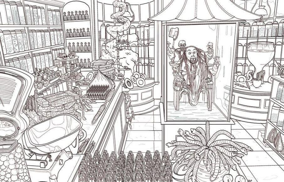 In Arrivo Altri Libri Da Colorare Di Harry Potter Justnerd It