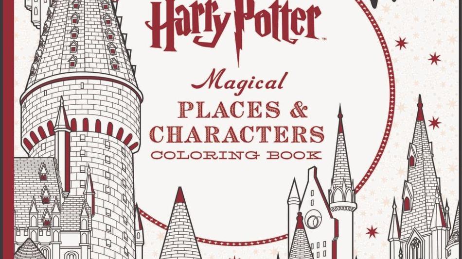 In arrivo altri libri da colorare di harry potter - Libri da colorare gratuiti da stampare ...
