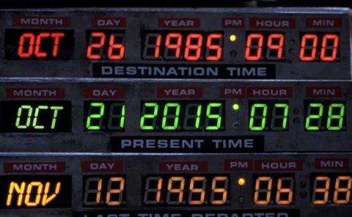 21 Ottobre 2015 – Il giorno di Ritorno al Futuro (?)