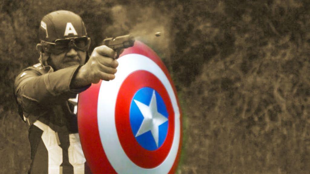 scudo antiproiettile di Capitan America