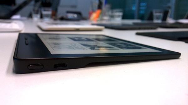 Prime impressioni sul nuovo Kindle Oasis