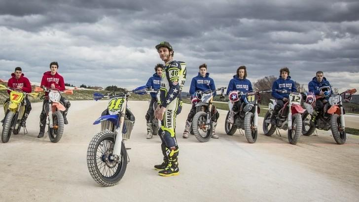 Valentino Rossi e Captain America Civil War