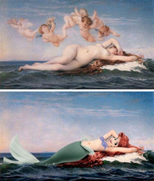 Celebrità nei dipinti storici