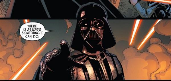 Darth Vader fumetto citazione