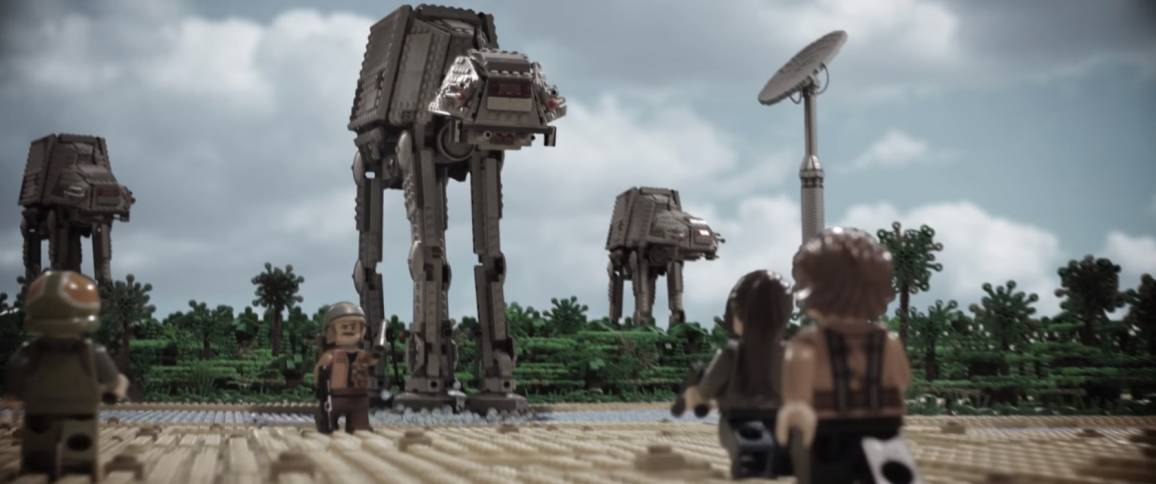 trailer di Rogue One con i LEGO