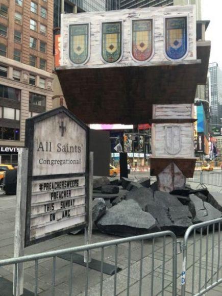 Preacher Chiesa Times Square