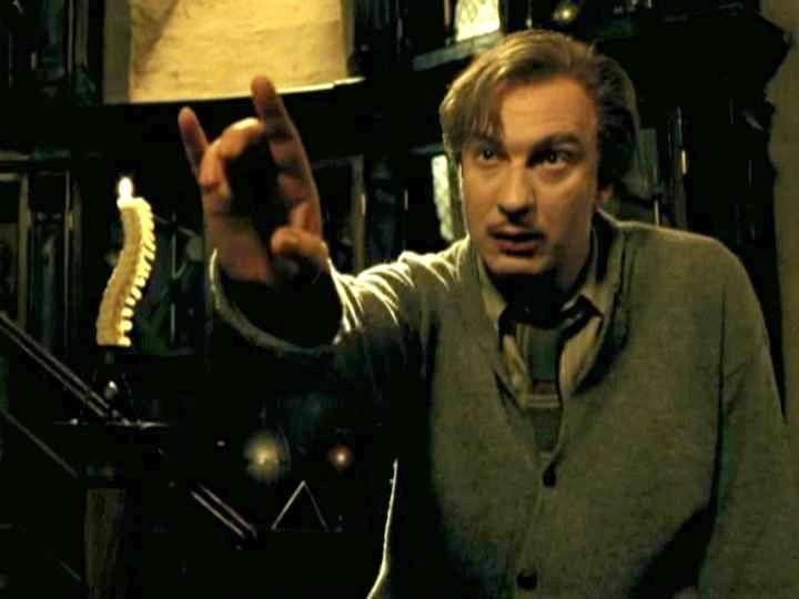 Remus Lupin – Cattedra di Difesa contro le Arti Oscure (3° anno)