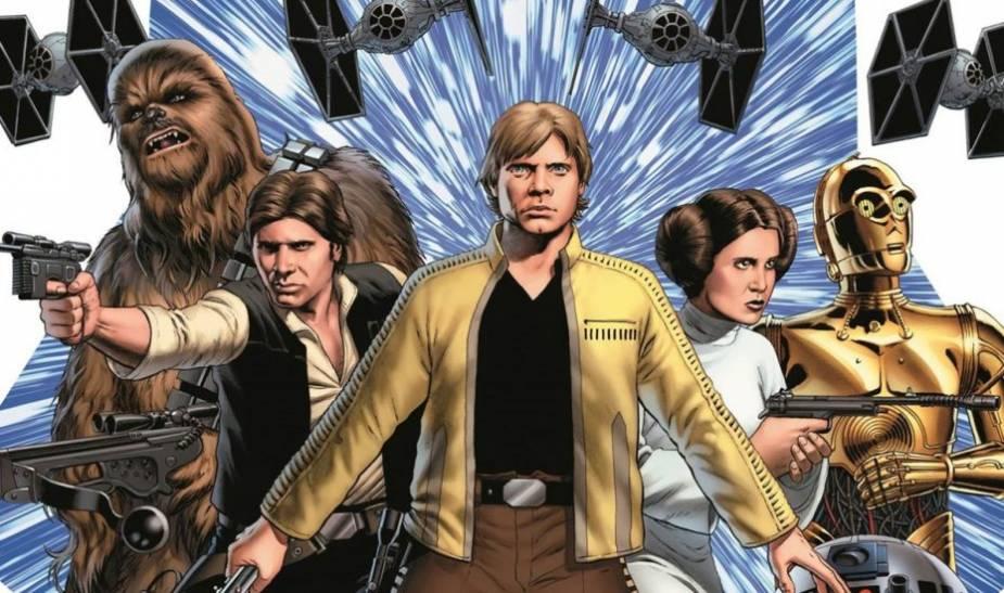nuovi fumetti di Star Wars