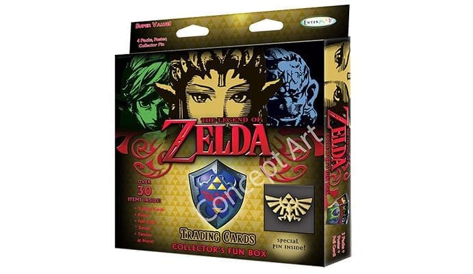 Zelda Box Carte