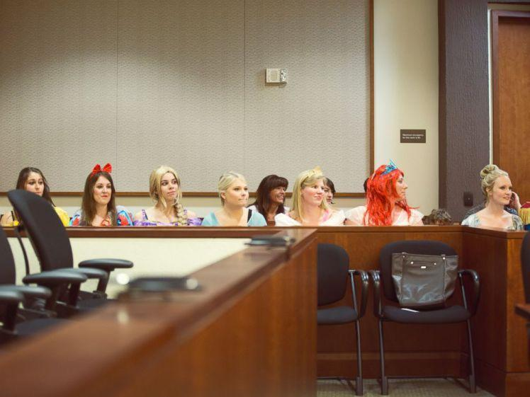 principesse Disney in tribunale