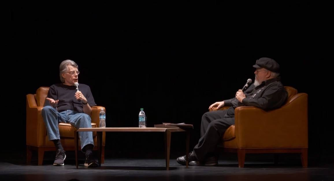 George R.R. Martin chiede a Stephen King