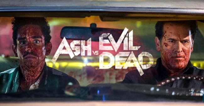 trailer della seconda stagione di Ash Vs Evil Dead