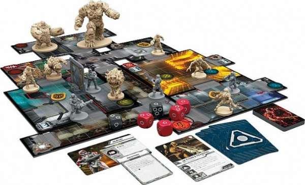 Doom The Board Game Componenti