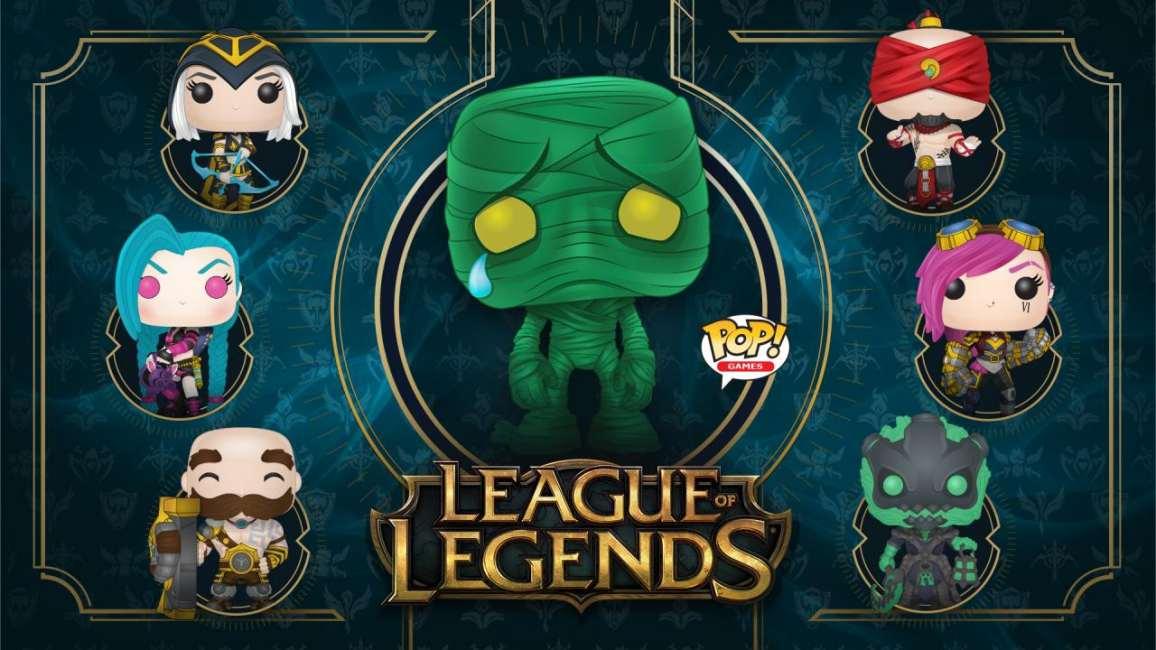 Funko Pop di League of Legends