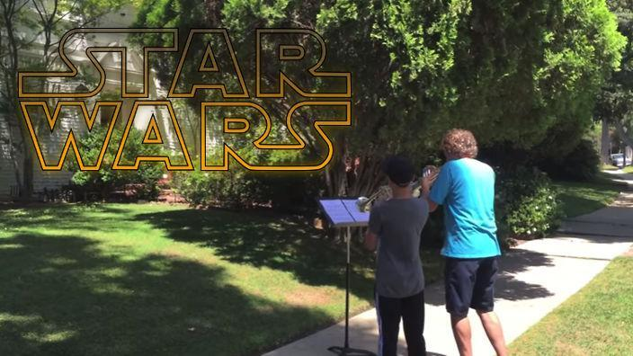 serenata a tema Star Wars