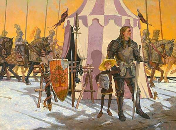 Ser Duncan insieme ad Egg