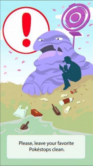 Avvisi di Pokémon GO
