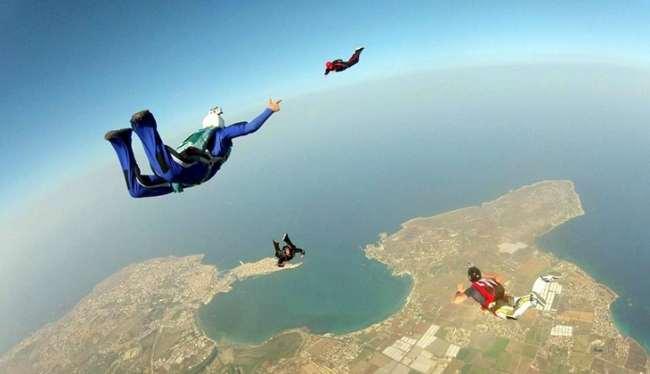 senza paracadute
