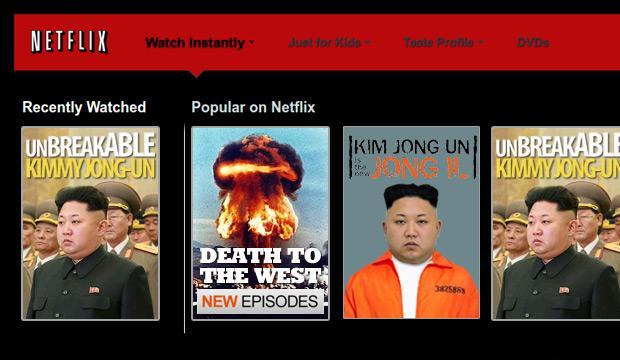 Corea del Nord Netflix