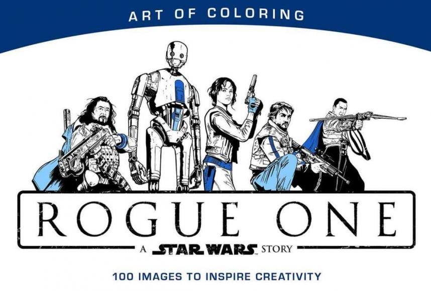 In Arrivo Il Libro Da Colorare Di Rogue One A Star Wars Story