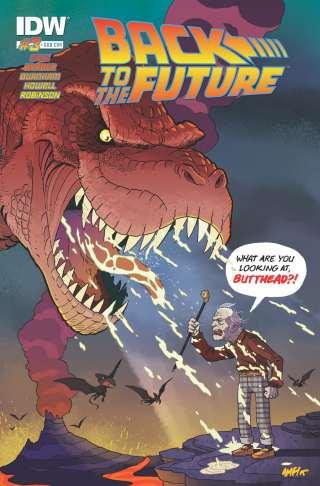 Ritorno al Futuro Fumetto Cover 2