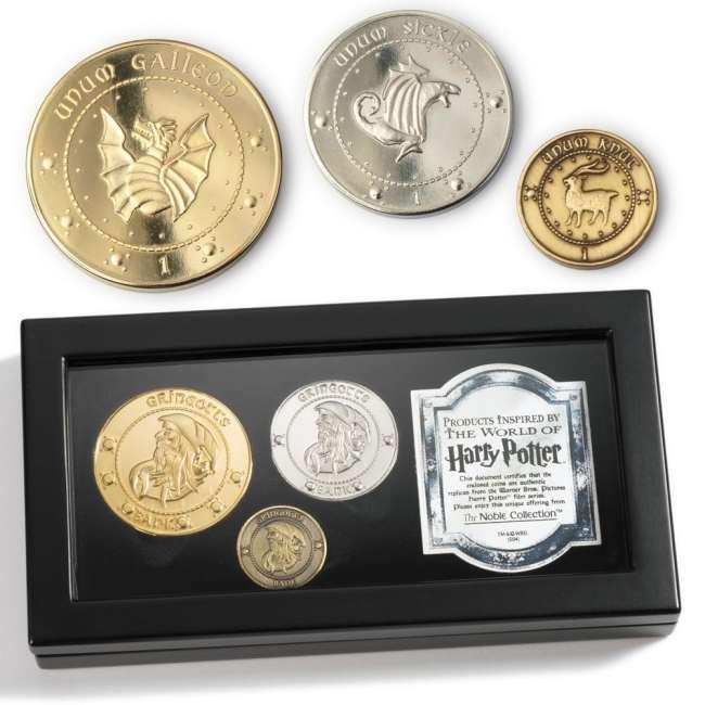 Set di monete Gringot Harry Potter
