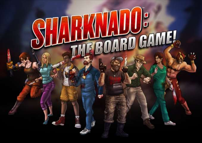 gioco da tavolo di sharknado
