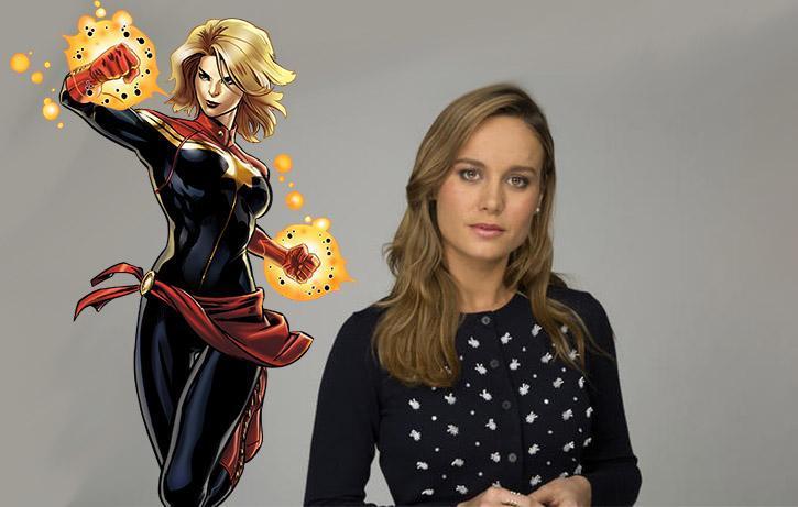 Brie Larson si prepara per Captain Marvel