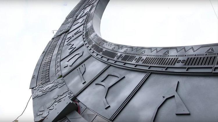 Stargate stampato in 3D