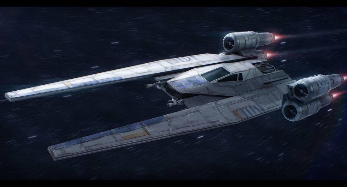 prime immagini dell'u-wing