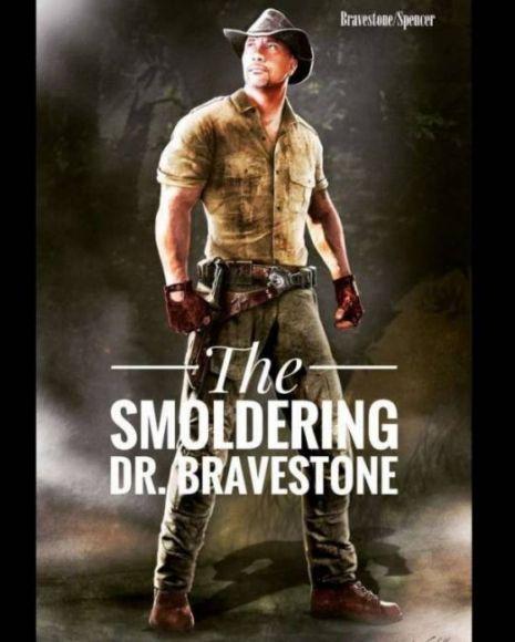 Jumanji 2 dr. Bravestone