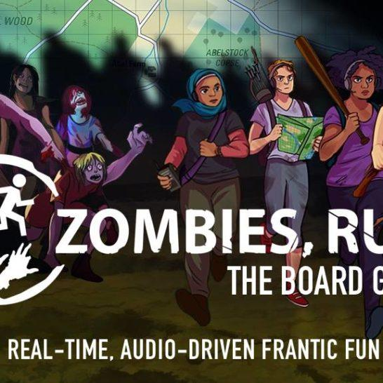 Zombies, Run! The Board Game